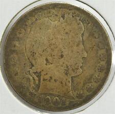 1901 Barber Quarter Dollar, Free Shipping, BQA42