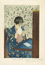 Mary Cassatt Reproductions: The Letter - Fine Art Print