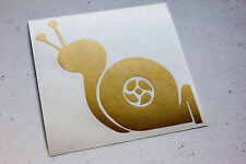 Turbo Snail Sticker Decal JDM Vinyl Sticker Blown Evo STi Subie Honda Mazda