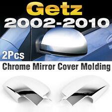 Chrome Mirror Cover Garnish Molding Trim K-355 For HYUNDAI 2002-2012 Getz Click