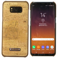 Housse Rigide Coque Pelcor Vrai Liège pour Samsung Galaxy S8+ Plus G955F