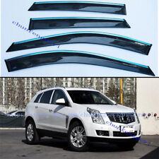 For Cadillac SRX 2010-2016 4X Window Visor Deflectors Sun Guard Rain Vent Shield
