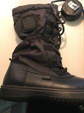 Coach Sage Lace-Up Cold Weather Boots Black 7 M