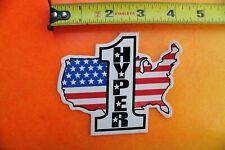 HYPER Wheels USA Rollerblading Blades Skates H Vintage INLINE Skating STICKER