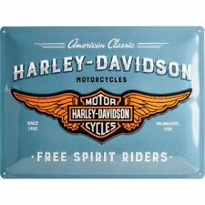 Harley Davidson Free Spirit Riders Tin Sign 30x40cm
