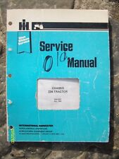 Original Rare 1982 IH Blue Ribbon Service Chassis 234 Tractor Manual