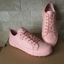 UGG ARIES SUNSET LACE-UP CANVAS FASHION SNEAKERS SHOES SIZE US 7.5 WOMEN