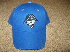 Milwaukee Admirals Baseball Cap Hat Pirate Head Logo - Blue