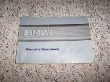 1987 BMW L6 M6 635CSi Coupe Owner Owner's Manual User Guide Book 3.4L