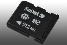 Genuine SanDisk M2 - 512 mb Memory Card For Sony Ericsson, older Xperia, PSP GO