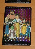 DRAGON BALL Z DBZ HERO COLLECTION PART 3 CARD RARE PRISM CARTE 319 MINT NEUF