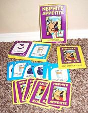 NEPHITE APPETITE BOOK OF MORMON FOOD CARD GAME FAMILY NIGHT FUN COVENANT LDS