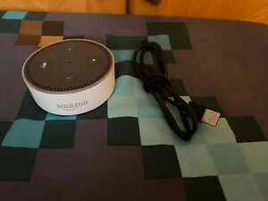 Amazon - Echo Dot (2nd Generation) - Smart Speaker - White EU L-2338