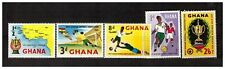 S16277) Ghana MNH 1959 Football 5v Soccer Football