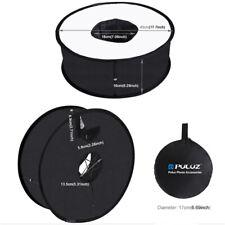 45cm SpeedLite Softbox Ring Flash Diffuser Round Light Speedlight For Camera UK