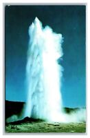 Yellowstone National Park, WY Wyoming, Old Faithful Upper Geyser Basin Postcard