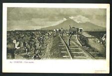 Pompei ( Napoli ) : Uno scavo - non viaggiata, indicativamente primi '900
