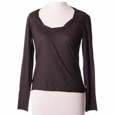 Hugo Boss Damen Bluse Hemd Top Shirt Gr.XS (DE34) Blouse Braun, 25095