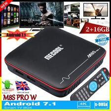 2GB+16GB MECOOL M8S PRO W Android7.1 TV BOX S-905W Quad Core 4K 3D 2.4G WiFi OTA