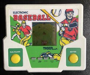Vintage 1987 Tiger Electronics Electronic Baseball Handheld Game Used Works!