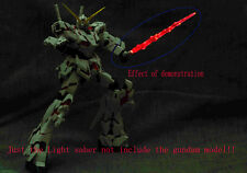 Gundam Model Kit MG 1/100 Metal Light Saber(Red)  Set 1/6 Action Figure Fix