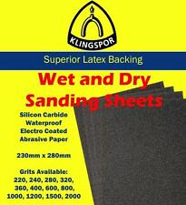 Klingspor Wet and Dry Sandpaper 400 GRIT - 50 Pack - PS 11 A