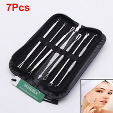 Women Blackhead Whitehead Facial Pimple Acne Blemish Extractor Remover Tool Kit