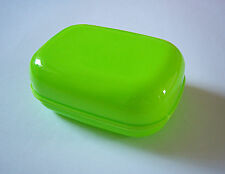 Soap Box Dish Plate Holder Case Green TRAVEL, BATHROOM, CAMPING, TREKING