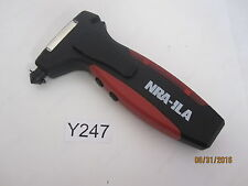 NRA-ILA Branded AA LED Hand Crank Emergency Roadside Flashlight Belt Cutter