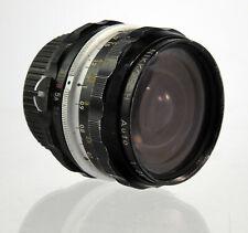 Nikon Nikkor-H Auto 1:3.5 f=28mm Non AI Objektiv Lens - 34322