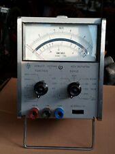 Vintage Hewlett Packard 427a Voltmeter