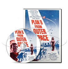 Plan 9 from Outer Space (1959) Bela Lugosi Horror, Sci-Fi Movie / Film (DVD)