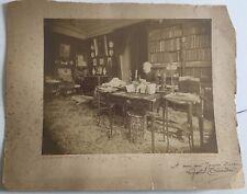 PHOTO VINTAGE : DORNAC (Paul Marsan) Gaston TISSANDIER 1891 albumine signé