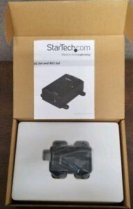StarTech.com POEINJ1G 1 Port Gigabit Midspan - PoE Injector