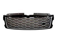 Calandre Brioche Chaude Avant Noir Orange- Argent Pour Range Rover 2017