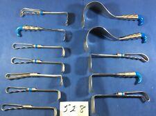 Codman V. Mueller Lot Of 12 Surgical Instruments 528