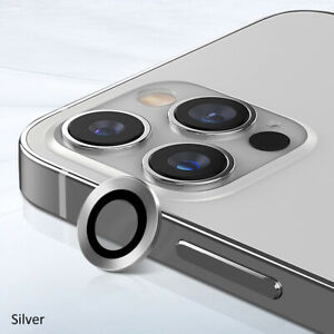 For iPhone 12 Pro Max Mini Camera Lens Protector Tempered Glass Film Metal Ring