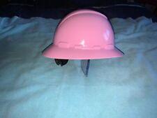 3M Pink Hard Hat Brand New 4-Point Ratchet Suspension Construction