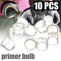 10Pcs 19mm Fuel Pump Carburetor Primer Bulb For Chainsaws Trimmer Brushcutter