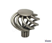 Brushed Satin Nickel Birdcage Kitchen Cabinet Drawer Closet Knob Pull Hardware