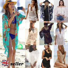 Cotton V Neck Sarongs, Cover-ups Swimwear for Women