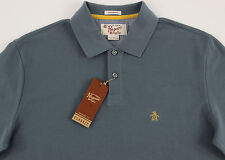 Men's PENGUIN Gray Polo Shirt Small S NWT NEW Classic Fit Nice!