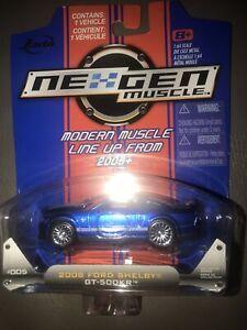 Jada NexGen Muscle Red 2008 Ford Mustang Shelby GT-500KR  B22