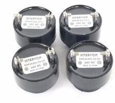 LOT OF 4 NEW INTERVOK BRP4535S-24-C SIGNALING HORNS, 24VDC, BRP4535S24C