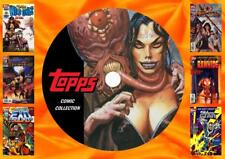 Topps Comic Collection On DVD Rom