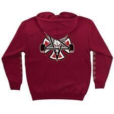 Independent x Thrasher Pentagram Cross Pullover Skateboard Hoodie Garnet Xl