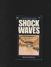 RICHARD MATHESON.SHOCKWAVES.SIGNED!.NICE COPY!