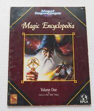 Advanced Dungeons & Dragons  Magic Encyclopedia Second Ed. Vol. 1  1992