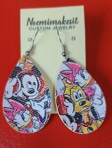 Teardrop Disney Character's Earrings