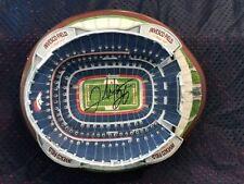 Clinton Portis Autographed Danbury Mint Stadium